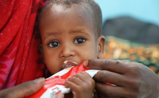Halimo Hassan in Filtu, Somali region